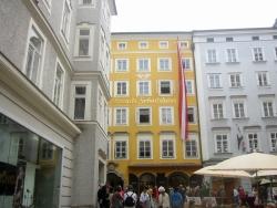 זלצבורג - בית מוצרט
