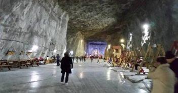 מכרה המלח - טיול לרומניה עם החברים